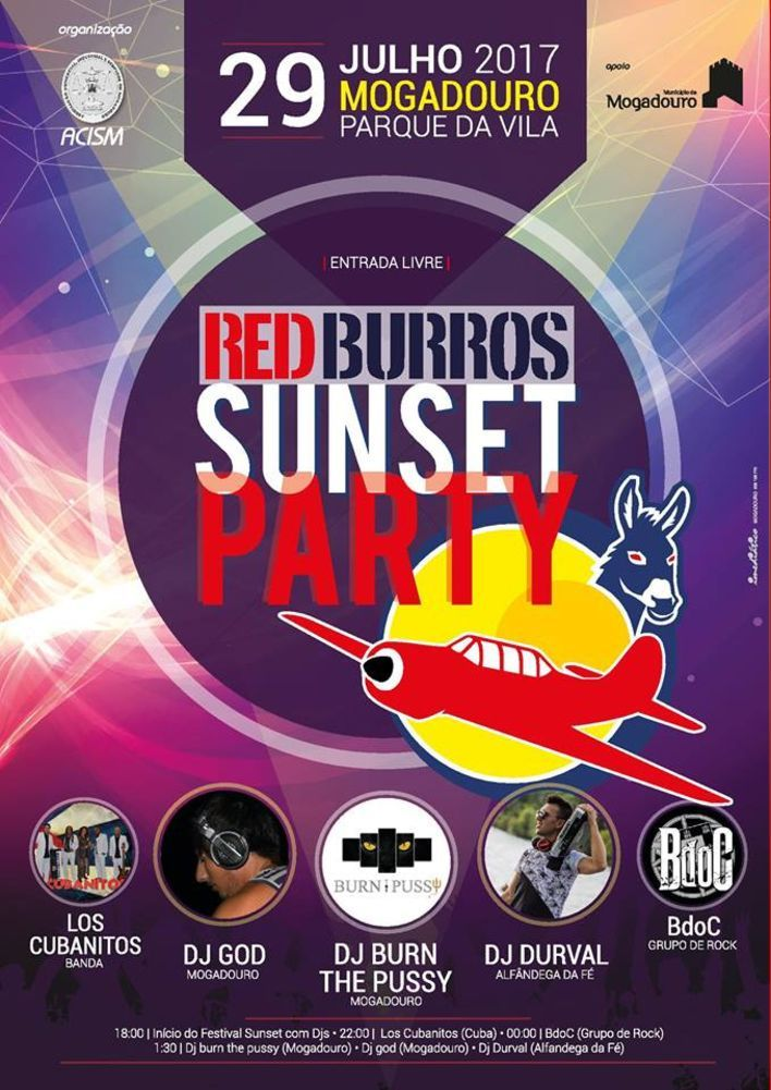 Red burros sunset party 17 1 980 2500