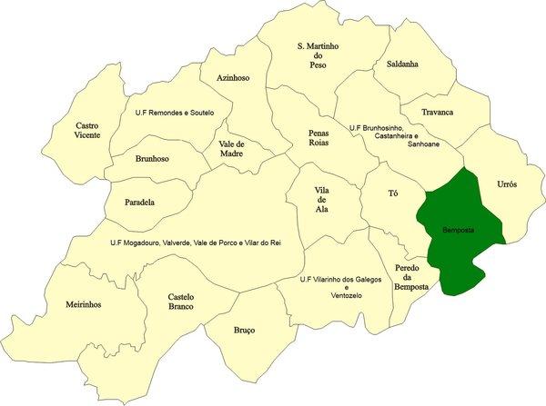 mogadouro mapa CM Mogadouro / Bemposta mogadouro mapa